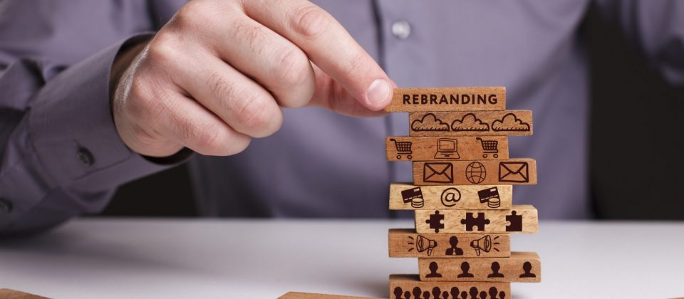 wooden building blocks rebranding strategy